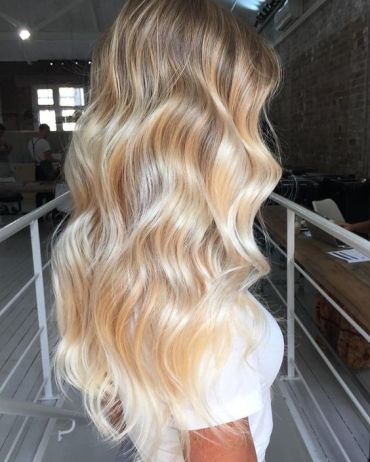 Soft Waves Blonde Healthy Hair Colour