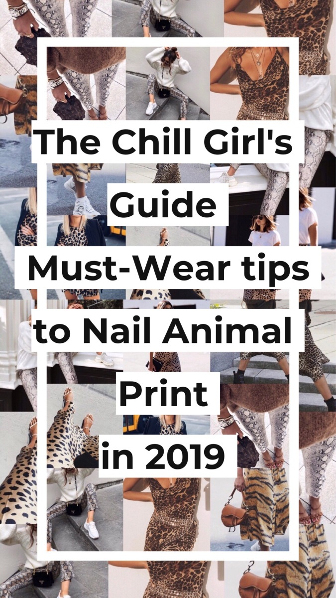 The Chill Girl's Guide: 2018/19 Trend You Need To Be Wearing Now.